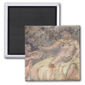 Polyphemus the Cyclops, Roman mosaic Magnet