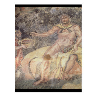 Polyphemus the Cyclops, Roman mosaic Postcard