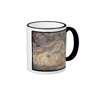 Polyphemus the Cyclops, Roman mosaic Ringer Mug
