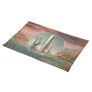 Polyscape place mat