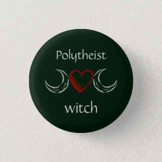 Polytheist witch badge /