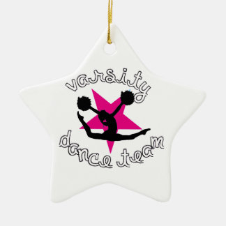 Pom Dance team Christmas Ornament