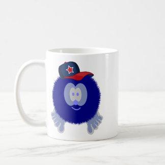Pom Pom_Blue Baseball Cap Coffee Mugs