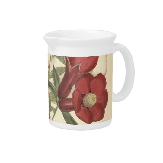 Pomegranate Blossoms Pitcher