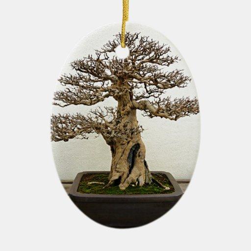 Pomegranate Bonsai Tree Ornament