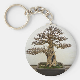 Pomegranate Bonsai Tree Key Ring