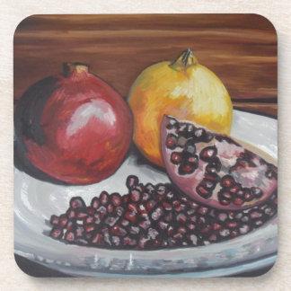 Pomegranate Coaster