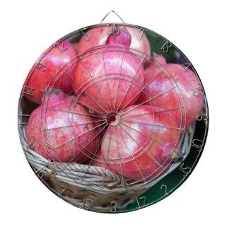 pomegranate dartboard
