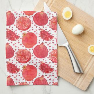 Pomegranate Fruit Tea Towel