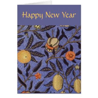 Pomegranate Happy Jewish New Year Greeting Cards