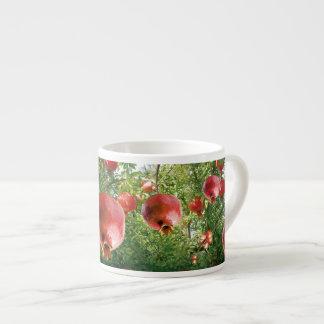 Pomegranate in Full Bloom Espresso Cup