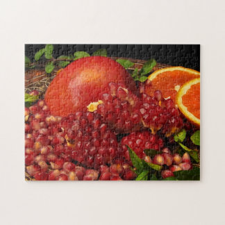 Pomegranate Orange and Mint Puzzle