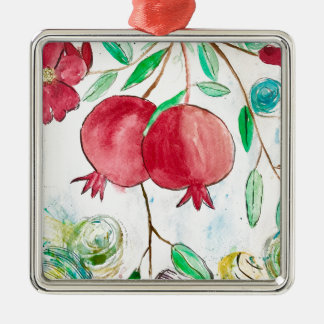 Pomegranate painting pomegranate art Wall art Christmas Ornament