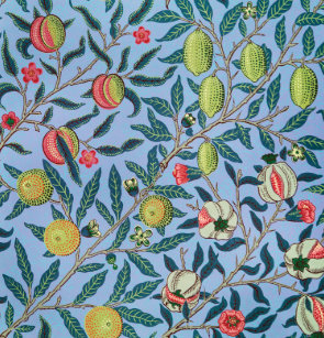 Pomegranate Pattern By William Morris Shower Curtain