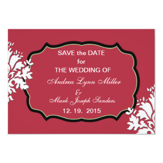 Pomegranate - Save the Date Announcement