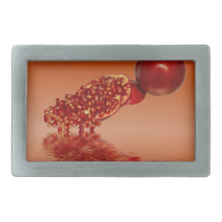 Pomegranate superfood fruit belt buckle