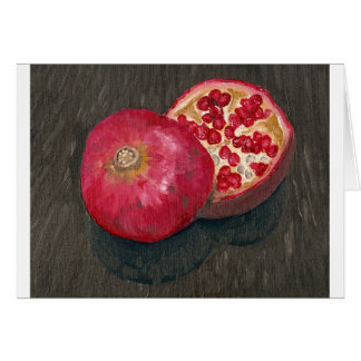 Pomegranates Card