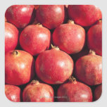Pomegranates on display at the Carmel Market Stickers