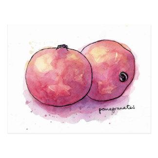 Pomegranates Postcard