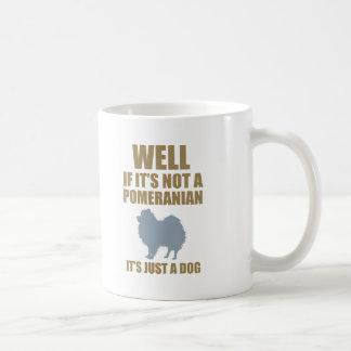 Pomeranian Basic White Mug