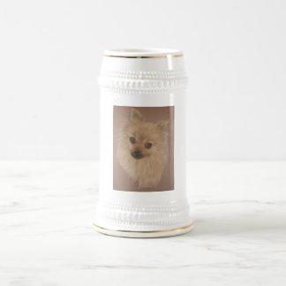 Pomeranian Beer Stein