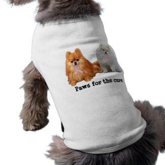 Pomeranian Breast Cancer Pet Clothing