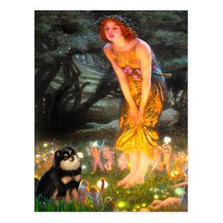 Pomeranian (BT) - MidEve Postcard