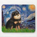 Pomeranian (BT) - Starry Night Mouse Pad