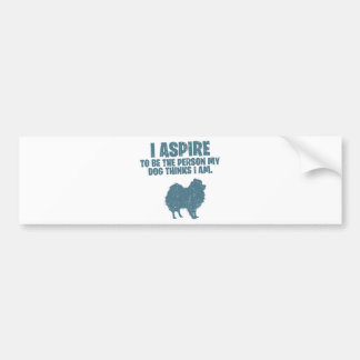Pomeranian Bumper Sticker