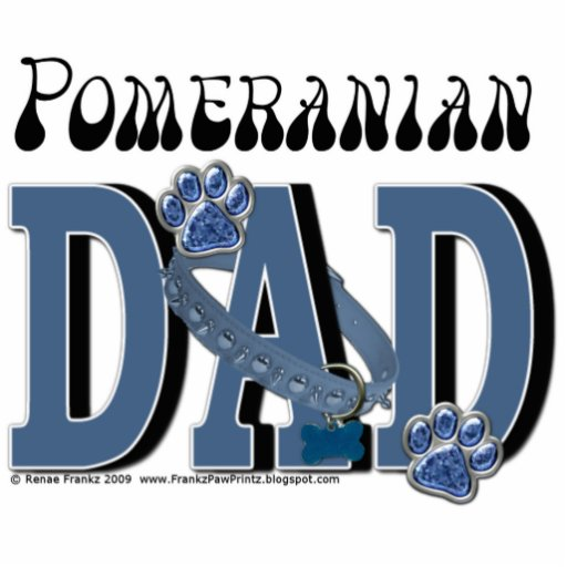 Pomeranian DAD Cut Outs