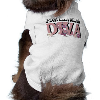 Pomeranian DIVA Pet Tee