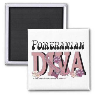 Pomeranian DIVA Magnet
