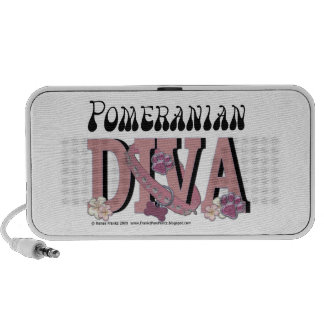Pomeranian DIVA iPhone Speakers