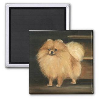 Pomeranian Dog Art Magnet