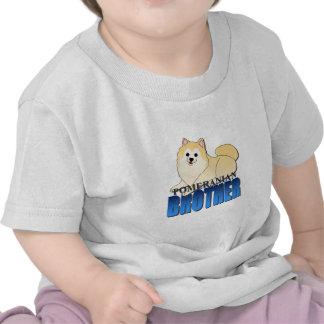 Pomeranian Dog Brother T-shirt