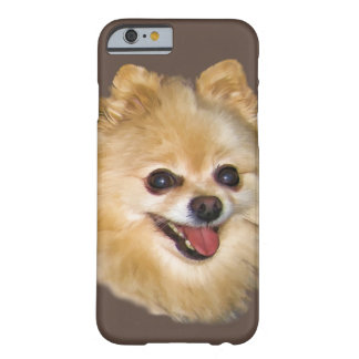 Pomeranian Dog Customisable Barely There iPhone 6 Case