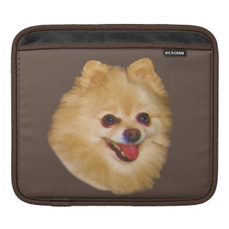 Pomeranian Dog Customizable iPad Sleeve