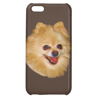 Pomeranian Dog Customizable Cover For iPhone 5C