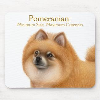 Pomeranian Dog Cuteness Mousepad