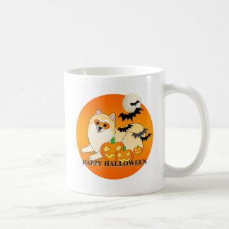 Pomeranian Dog Halloween Coffee Mug
