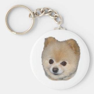 Pomeranian Dog  Keychain