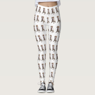 POMERANIAN- DOG LOVERS!! LEGGINGS