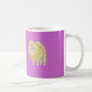Pomeranian Dog Mugs add name front.