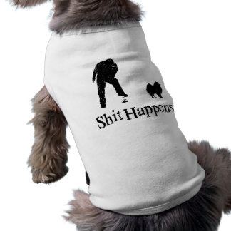 Pomeranian Sleeveless Dog Shirt