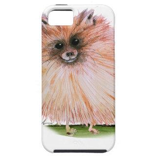 pomeranian dog, tony fernandes iPhone 5 case