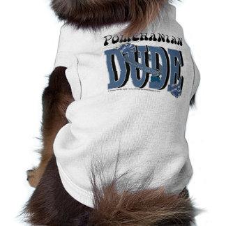 Pomeranian DUDE Dog Clothes