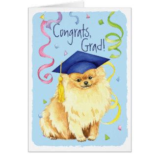 Pomeranian Graduate Card
