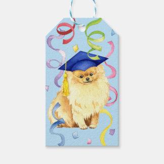 Pomeranian Graduate Gift Tags