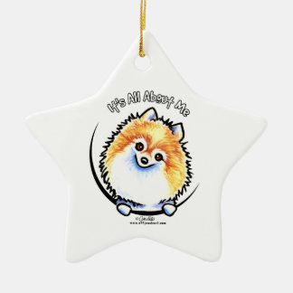 Pomeranian IAAM Christmas Ornament