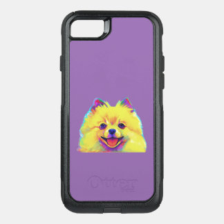 Pomeranian in Colors OtterBox Commuter iPhone 7 Case